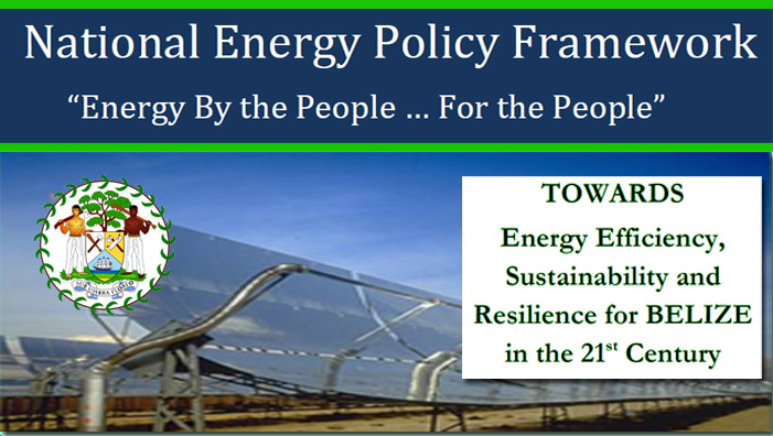 Belize National Energy Policy Framework