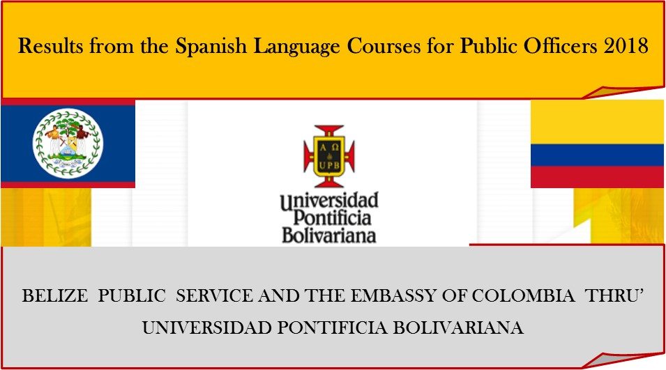 Results from the Spanish Language Courses for Public Officer ...