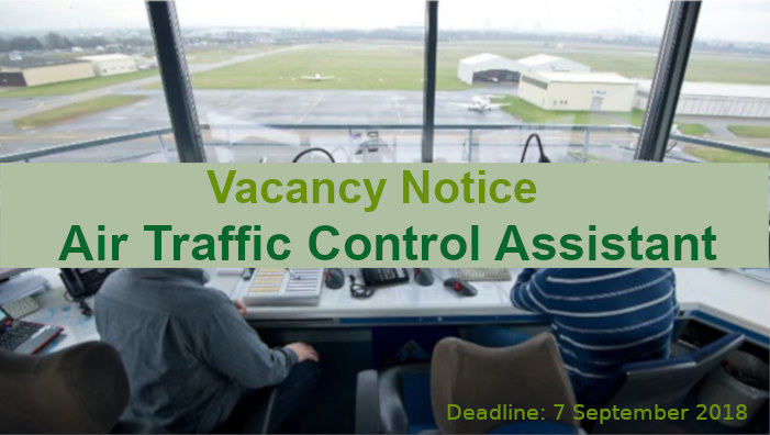 Vacancy - Air Traffic Controll Assistant